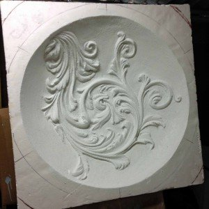 Ceiling Decor carved