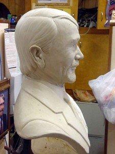 Sam Touchstone - bust