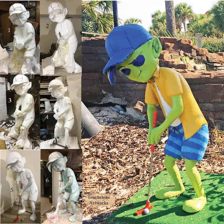 Alien Golfer